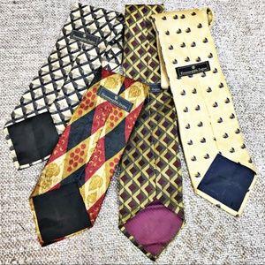 Ermenegildo Zegna men's silk ties printed